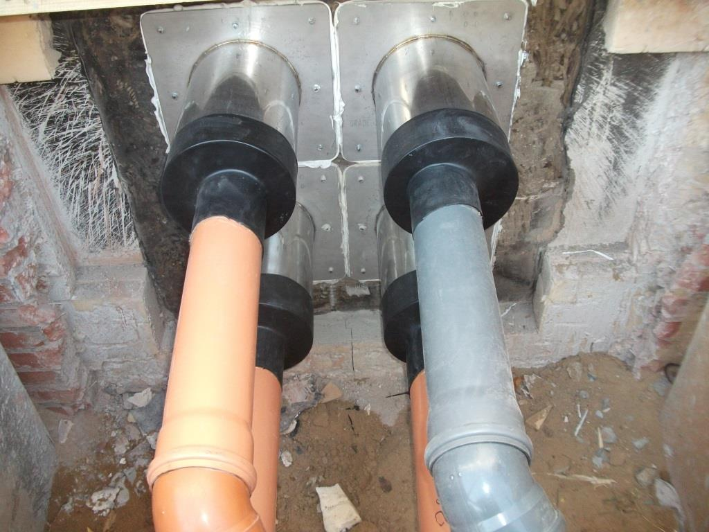 Гидроизоляция инженерних вводов в здание герметик тиксопрол ам-5 мастика тиоколовая